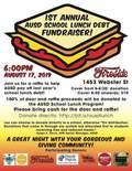 Flier for AUSD School Debt Fundraiser