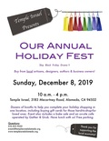 Flier for Holiday Fest