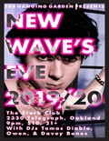 Flier for New Wave`s Eve 2020