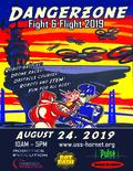 Flier for Dangerzone- Fight & Flight 2019