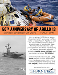 Flier for 50th Anniversary Apollo 12 Splashdown