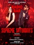 Flier for Supreme Saturdays at Radio