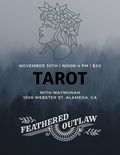 Flier for Tarot with Maymunah