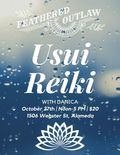 Flier for Usui Reiki with Danica