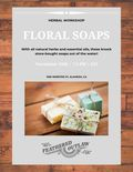 Flier for Herbal/Floral Soaps Workshop