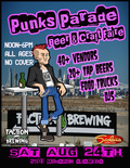 Flier for Punks Parade Beer and Craft Faire