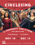 Flier for A Community Sing-A-Long with Bryan Dyer