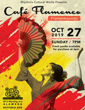Flier for Cafe Flamenco: Flamenkeando