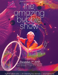 Flier for The Amazing Bubble Show