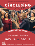 Flier for CircleSing with Bryan Dyer
