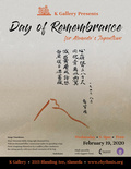 Flier for Day of Remembrance